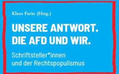 Unsere Antwort. Die AfD und wir.